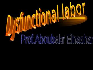 dysfunctional-labour.ppt