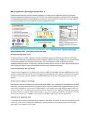 Why Is Supplement Label Design Important Part - III.docx