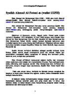 (Wafat 1325H) Syaikh Ahmad Al-Fatoni.pdf