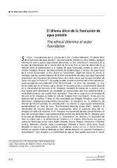 El Dilema Ético De La Fluoración Del Agua Potable (Chile).pdf