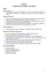 Guia de Aprendizagem de Física 2009 - 3º ano - Unidade I.doc