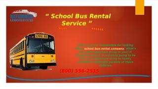 School Bus Rental Service.pptx
