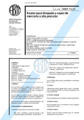 NBR05125-JUL1996- Reator para Lâmpada a Vapor de Mercúrio a Alta Pressão (Especificação).pdf
